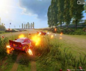 Puzzle de Batalla, videojuego Cars 3