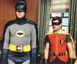 Puzzle de Batman y Robin