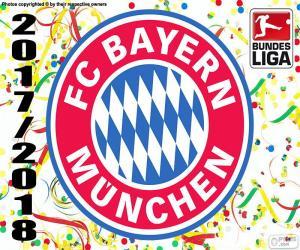 Puzzle de Bayern, Bundesliga 2017-2018