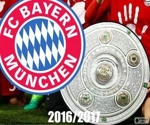 Puzzle de Bayern, campeón 2016-2017