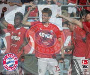 Puzzle de Bayern Múnich, campeón15-16