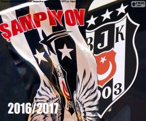Puzzle de Beşiktaş, campeón 2016-2017