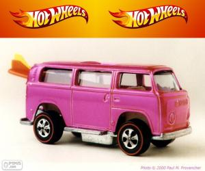 Puzzle de Beach Bomb, Hot Wheels