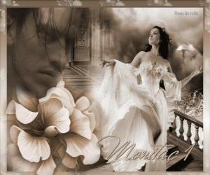 Puzzle de Bella princesa pensado con su querido príncipe