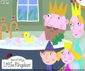 Puzzle de Ben y Holly con los reyes