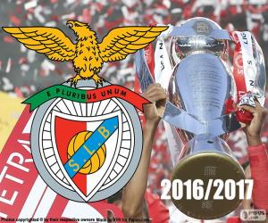 Puzzle de Benfica, campeón 2016-2017