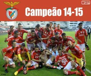 Puzzle de Benfica, campeón 2014-2015