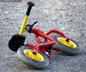 Puzzle de Bicicleta infantil