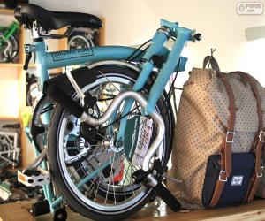 Puzzle de Bicicleta plegable