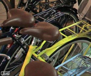 Puzzle de Bicicletas para la ciudad