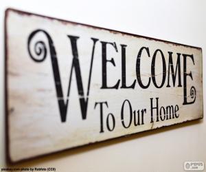 Puzzle de Bienvenido a nuestro hogar