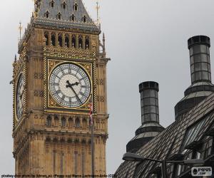Puzzle de Big Ben, Londres