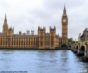 Puzzle de Big Ben, Westminster
