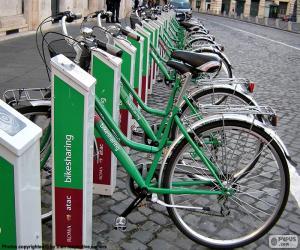 Puzzle de Bikesharing, Roma