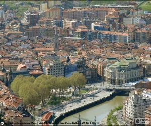 Puzzle de Bilbao, País Vasco, España