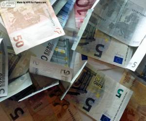 Puzzle de Billetes de euro