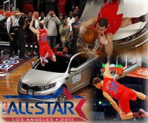 Puzzle de Blake Griffin es el nuevo rey de los mates de la NBA 2011