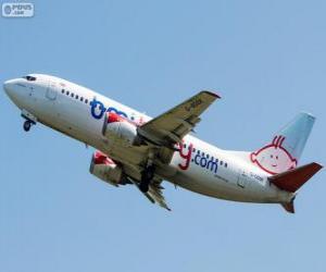 Puzzle de Bmibaby fue una aerolínea de bajo coste británica (2002-2012)
