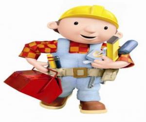 Puzzle de Bob el Constructor con sus herramientas