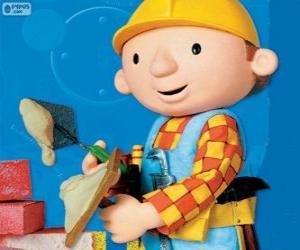 Puzzle de Bob el Constructor trabajando