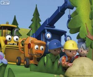 Puzzle de Bob el Constructor y sus amigos