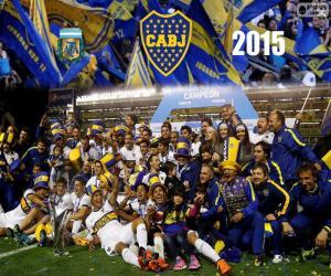 Puzzle de Boca campeón 1a División 15