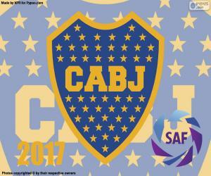 Puzzle de Boca Juniors, campeón 2016-2017