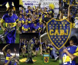 Puzzle de Boca Juniors, Campeón Apertura 2011 en Argentina