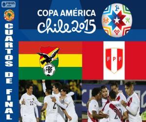 Puzzle de BOL - PER, Copa América 15