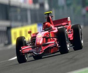 Puzzle de Bólido de Fórmula 1 o F1