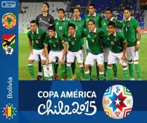 Puzzle de Bolivia Copa América 2015