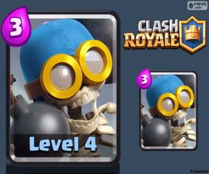 Puzzle de Bombardero de Clash Royale