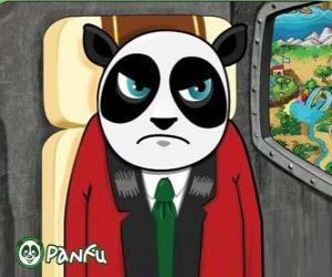 Puzzle de Bonez el malvado de Panfu, en avión una vez liberados los pokopets