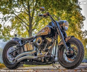 Puzzle de Bonita Harley-Davidson
