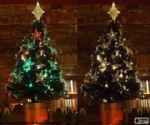 Puzzle de Bonito árbol de Navidad