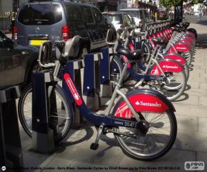 Puzzle de Boris Bikes, Londres