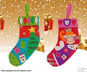Puzzle de Botas de navidad