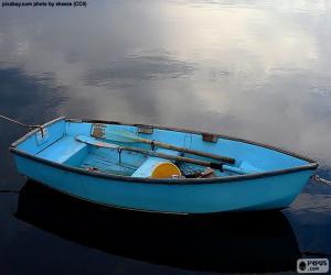 Puzzle de Bote azul