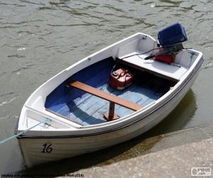 Puzzle de Bote blanco