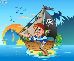 Puzzle de Bote pirata
