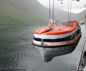 Puzzle de Bote salvavidas rígido