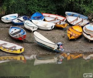 Puzzle de Botes en la orilla