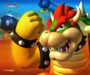 Puzzle de Bowser o Rey Koopa, el principal enemigo en los juegos de Mario