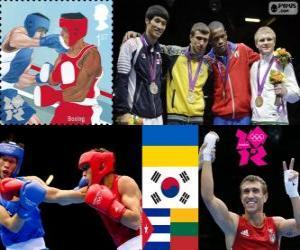 Puzzle de Boxeo -60kg masculino LDN12