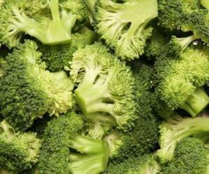 Puzzle de Brócoli o brécol