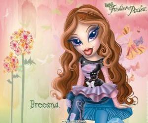 """Puzzle de Breeana es una chica tímida y solitaria, la llaman """"Hadita a la moda"""" ella y su familia son hadas"""