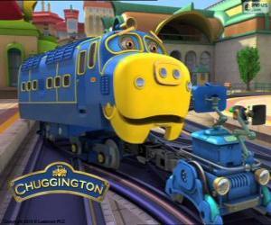 Puzzle de Brewster, locomotora diesel-eléctrica de Chuggington