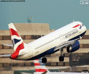 Puzzle de British Airways, Reino Unido
