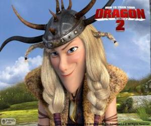 Puzzle de Brusca Thorston, Cómo entrenar a tu dragón 2