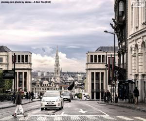 Puzzle de Bruselas, Bélgica